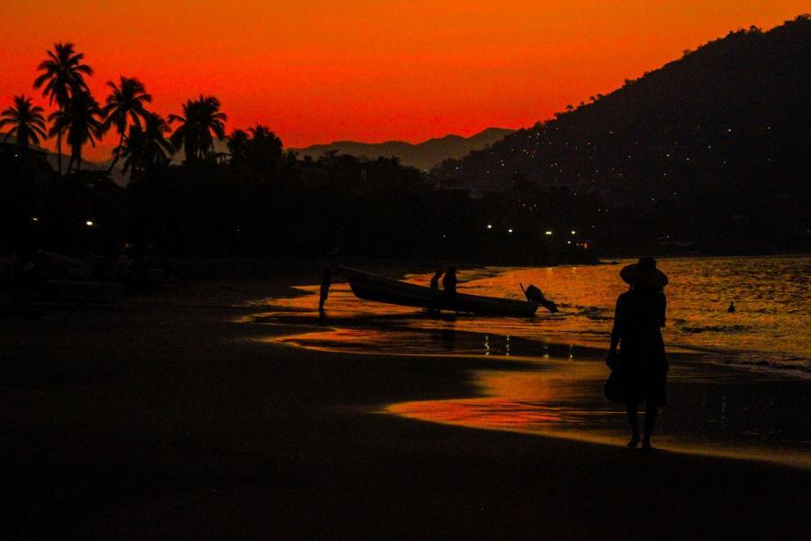 Amanecer En Mi Playa Foto De Walter Coria
